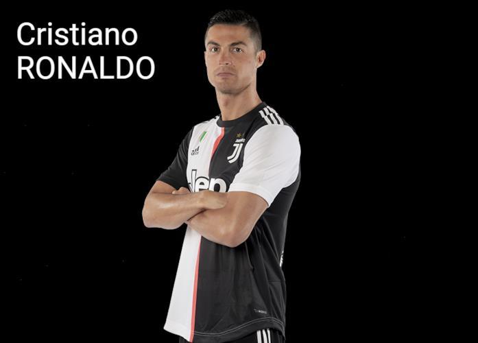 Cristiano Ronaldo in maglia bianconera