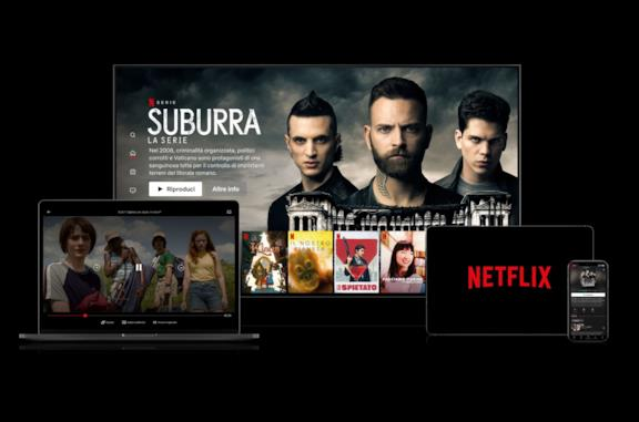La piattaforma di streaming on-demand Netflix