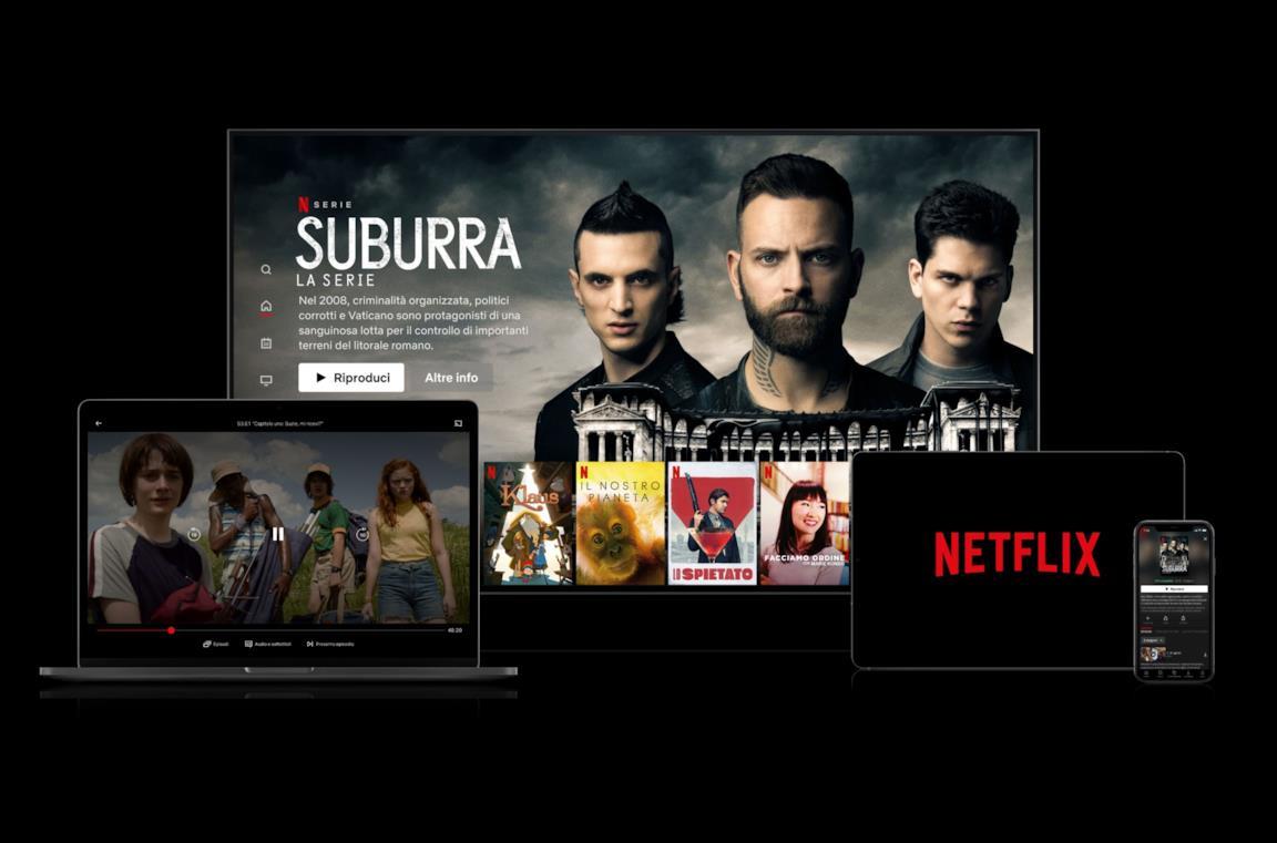 La piattaforma di streaming on-demand Netflix