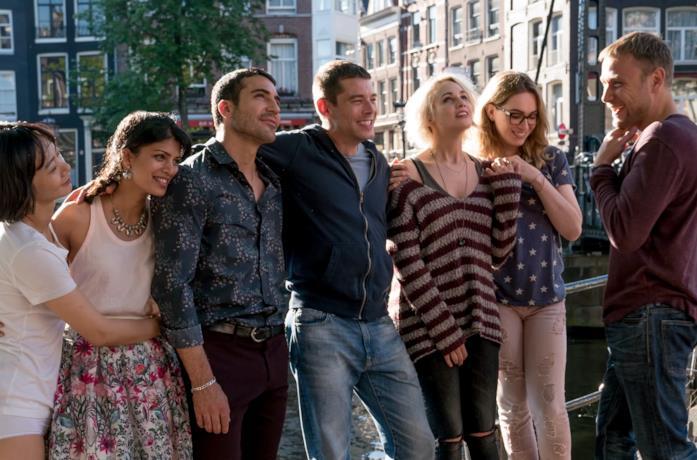 I protagonisti di Sense8 in una foto tratta dalla serie