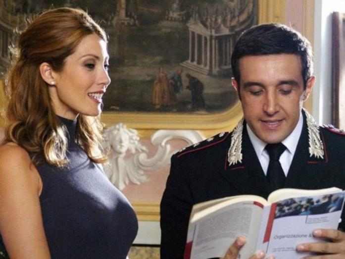 Milena Miconi e Flavio Insinna in Don Matteo 13