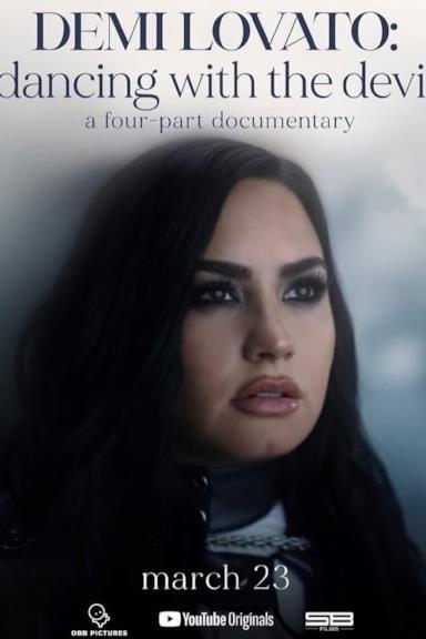 Poster Demi Lovato: Dancing with the Devil