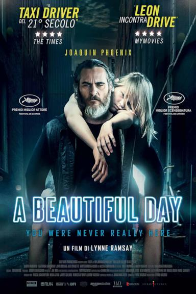 Poster A Beautiful Day - You Were Never Really Here