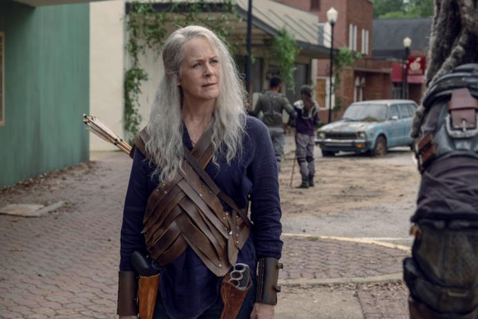 Carol nell'episodio 9x11 di The Walking Dead