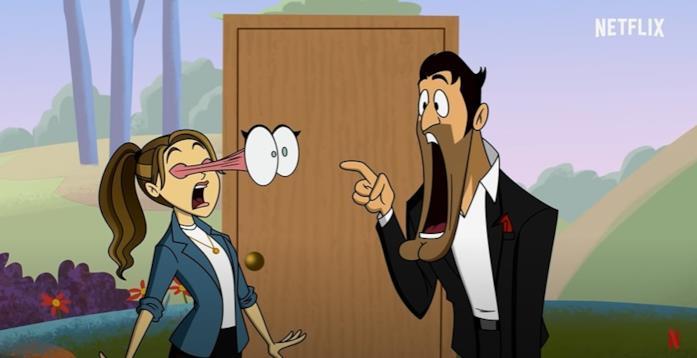 Lucifer e Chloe diventano cartoni animati nel trailer di Lucifer 6
