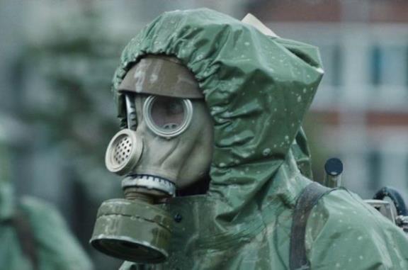 I liquidatori nella serie TV Chernobyl