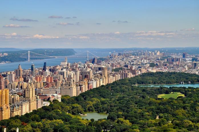 Il panorama di New York