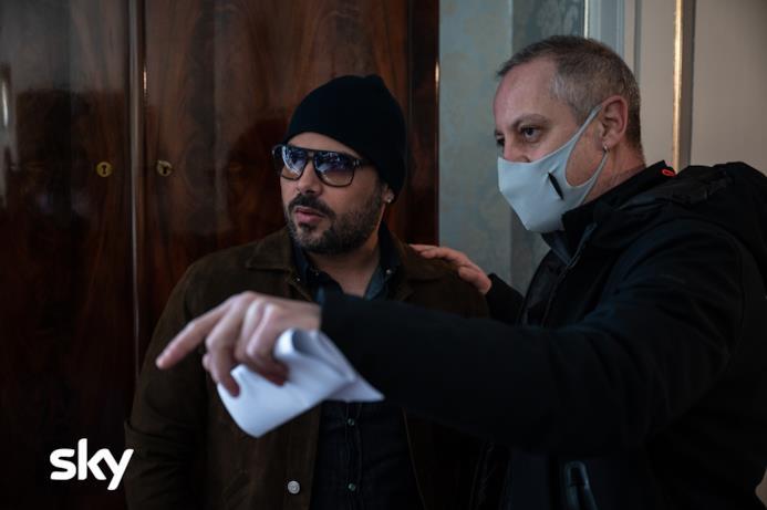 Marco D'Amore con Claudio Cupellini