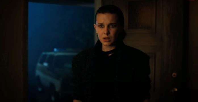 Eleven compare nella seconda stagione di Stranger Things
