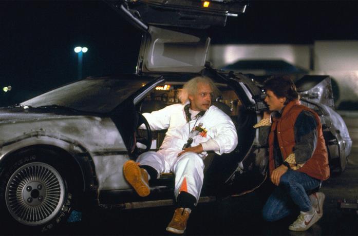 Michael J. Fox e Christopher Llyod