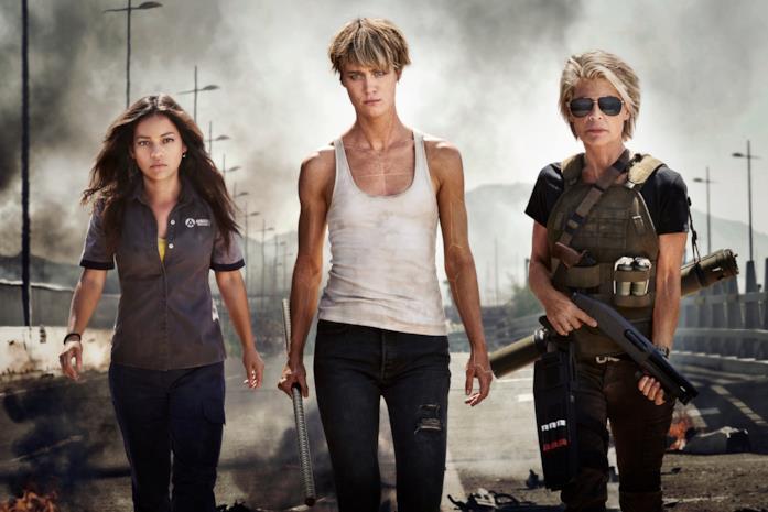 Le protagoniste di Terminator 6
