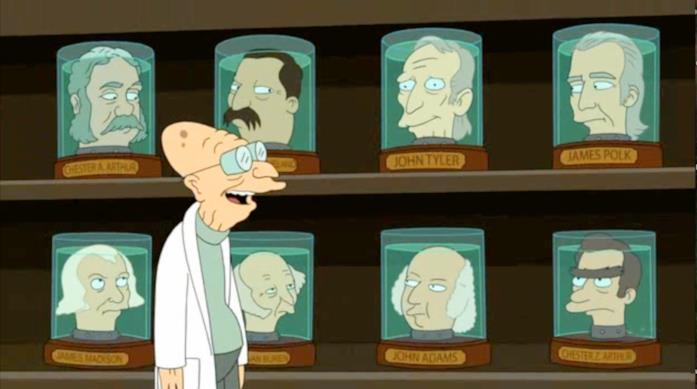 Hubert J. Farnsworth di Futurama