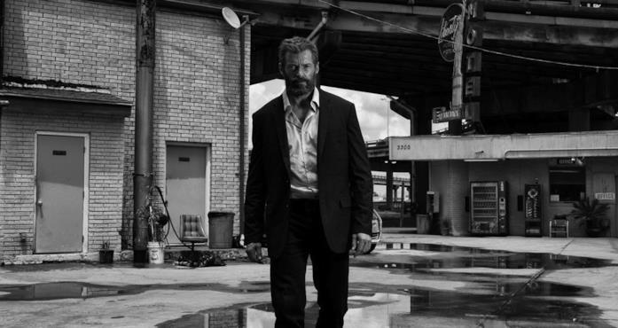 Hugh Jackman sul set di Logan - The Wolverine