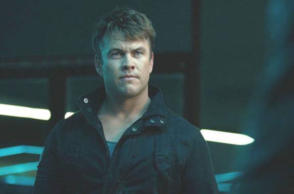 Un'immagine di Luke Hemsworth in Westworld