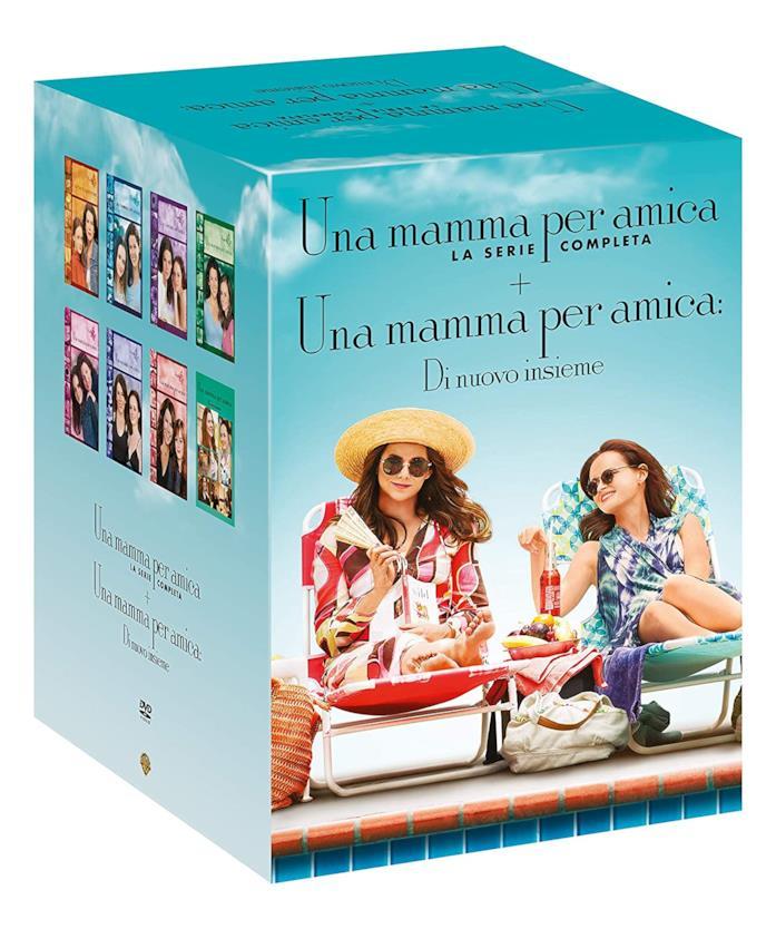 Copertina del cofanetto DVD di Una mamma per amica