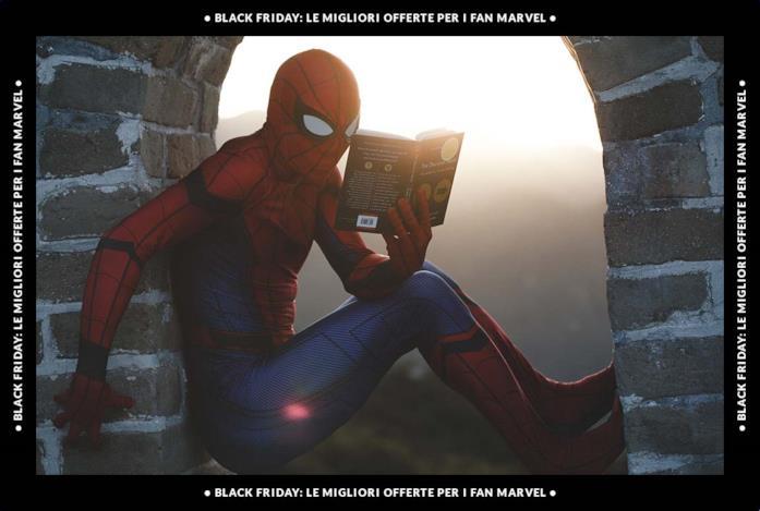 Spider-Man legge un libro