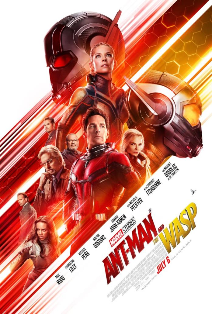 Il poster ufficiale di Ant-Man and the Wasp