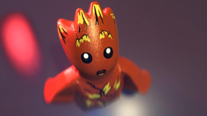 Baby Groot in versione LEGO