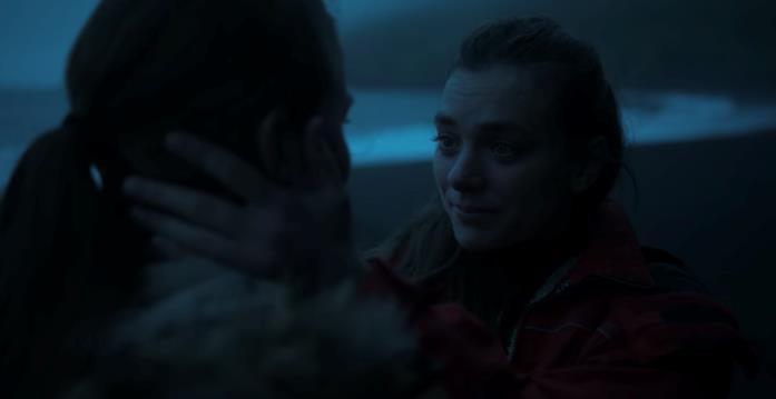 Il changeling Ása dice addio alla sorella