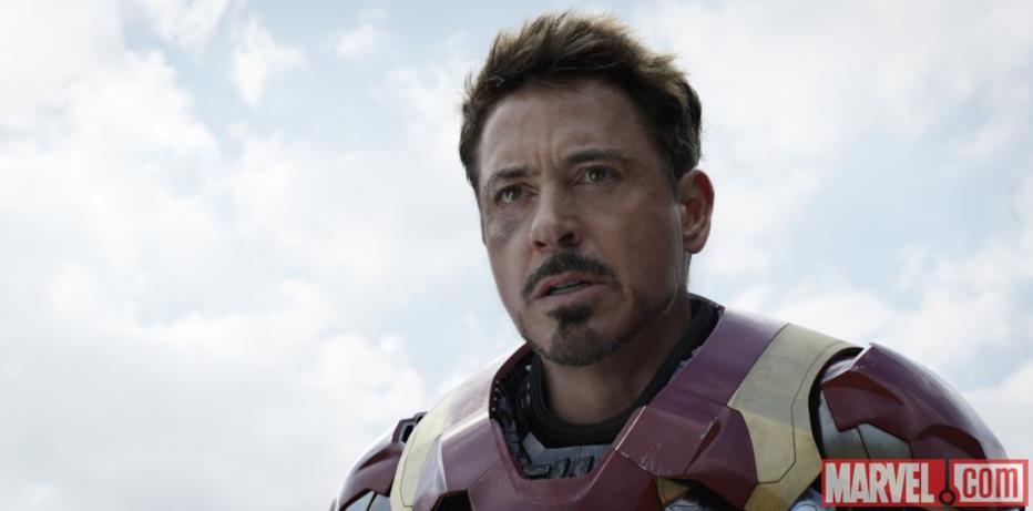 Tony Stark (RDJ) in Capitan America: Civil War