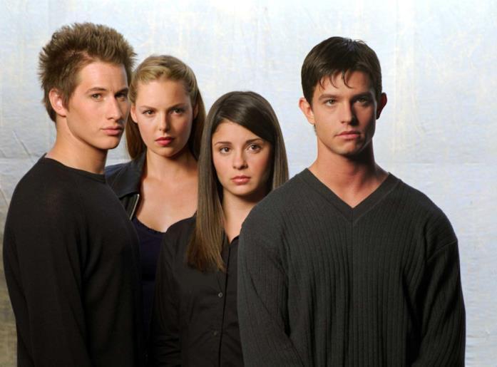 Il cast di Roswell
