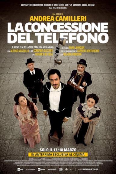 Poster La concessione del telefono