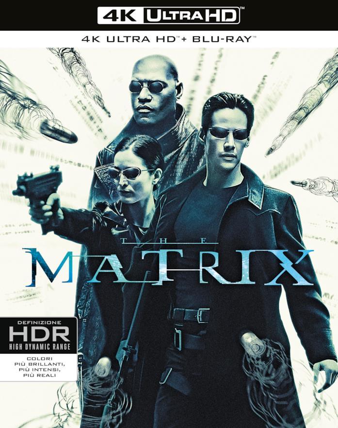 Packshot di Matrix in 4K
