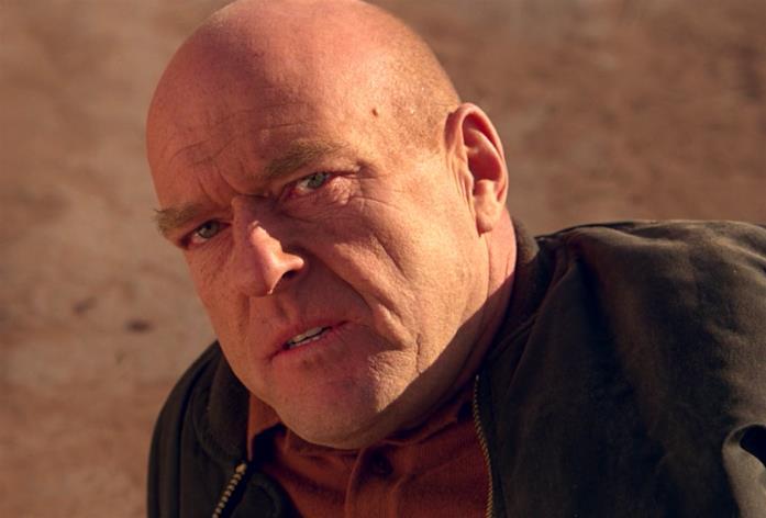 Hank in una scena di Breaking Bad