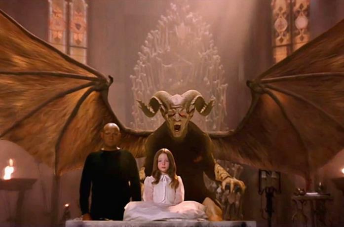Una scena dal finale de La mossa del diavolo