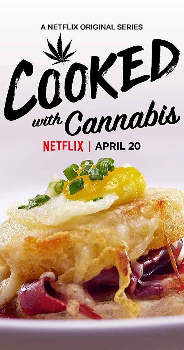 Un piatto salato a base di cannabis