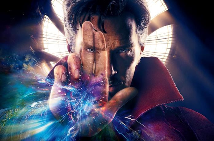 Benedict Cumberbatch è il protagonista di Doctor Strange