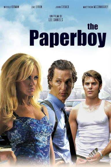 Poster The Paperboy