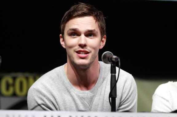 Nicholas Hoult in conferenza