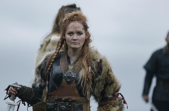 Ágústa Eva Erlendsdóttir in una scena della serie Beforeigners