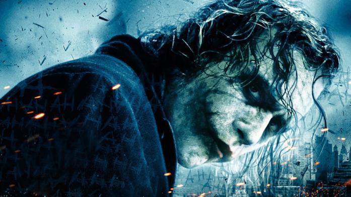 Un poster de Il cavaliere oscuro dedicato aJoker