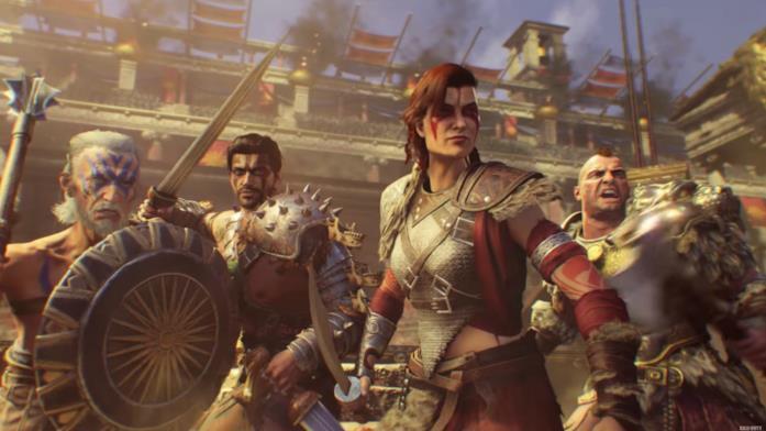 """Uno screen della modalità Zombies di Black Ops 4 nella mappa """"IX"""""""