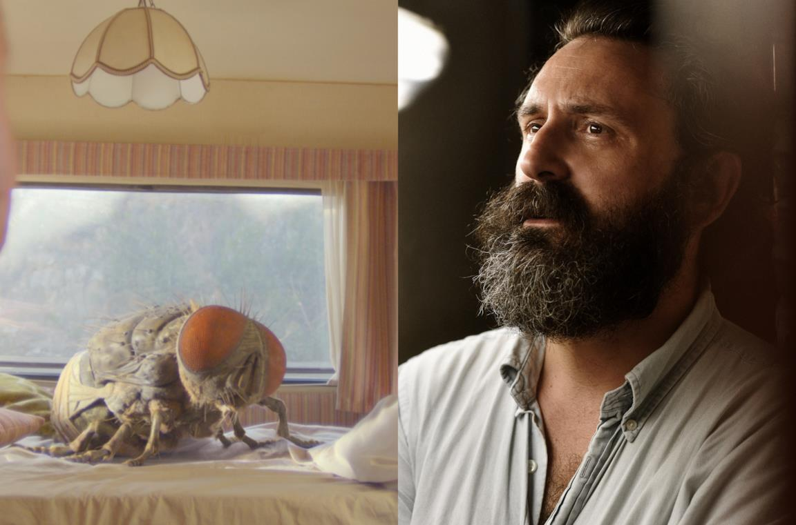 La mosca gigante e il regista Quentin Dupieux