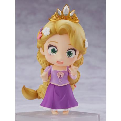 Rapunzel con l'espressione preoccupata