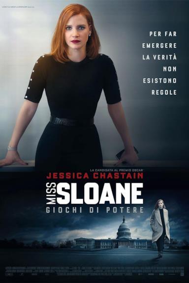 Poster Miss Sloane - Giochi di potere