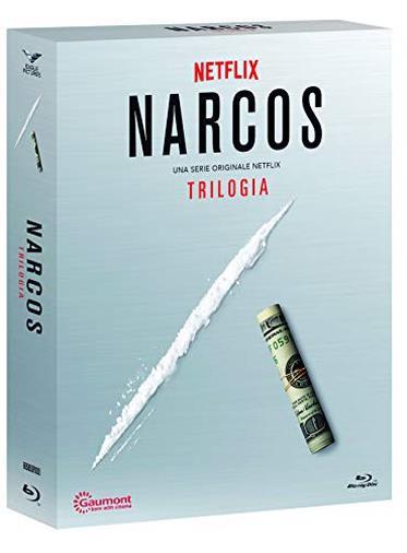 Cofanetto Blu-ray di Narcos - Stagioni 1-3