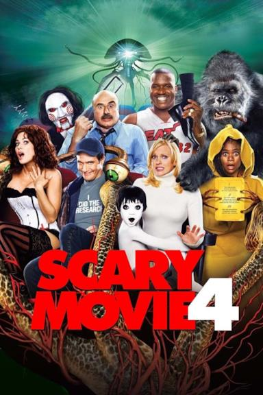 Poster Scary Movie 4
