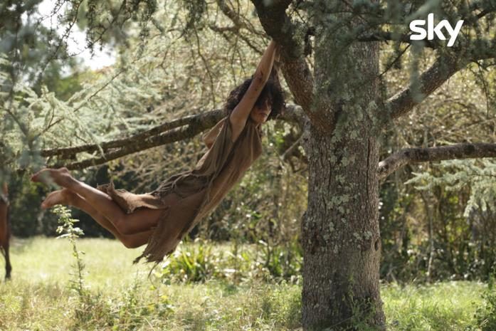 Tomtom si dondola su un ramo