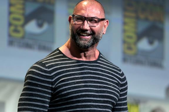 Dave Bautista al San Diego Comic Con