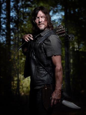Il poster di The Walking Dead 9 dedicato a Daryl Dixon