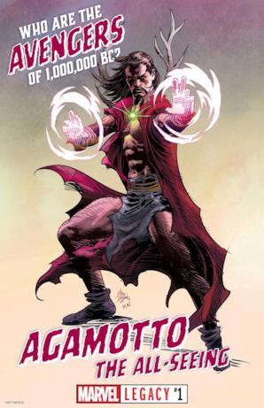 Agamotto da Marvel Legacy #1