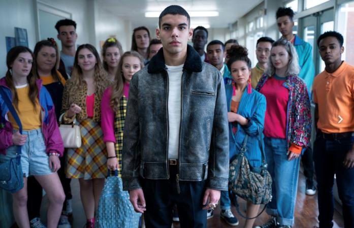 Rahim si mostra in un'immagine della seconda stagione