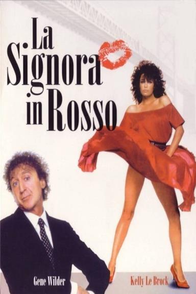 Poster La signora in rosso