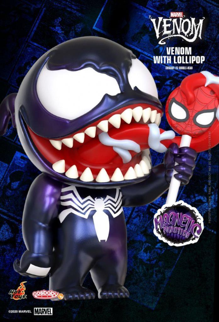 Venom Cosbaby Hot Toys