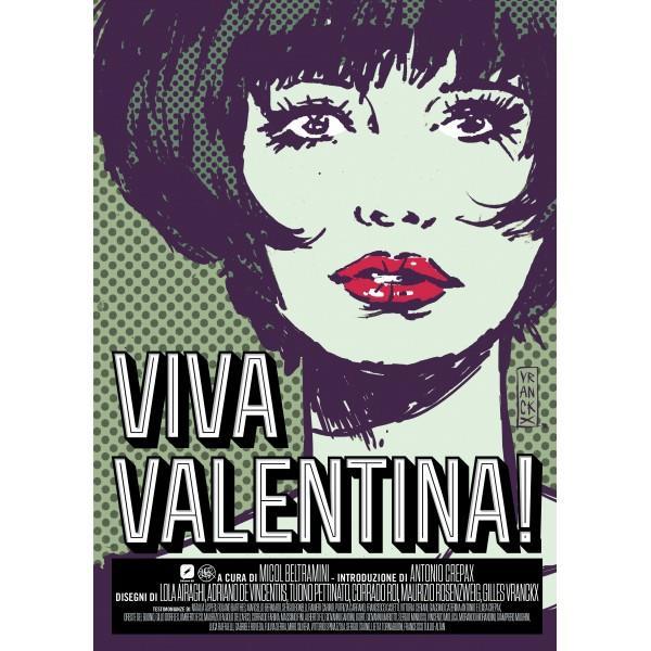 La copertina regular di Viva Valentina!