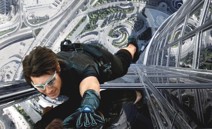 Un'immagine del film Mission: Impossible - Protocollo fantasma